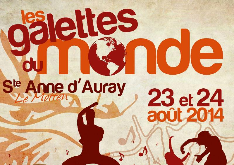 Affiche des Galettes du Monde 2014