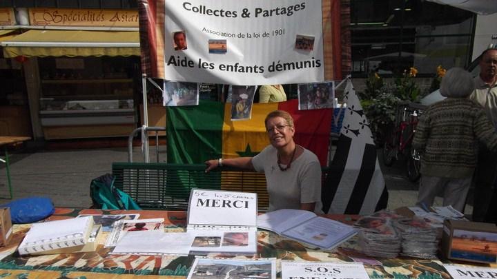 Stand Collectes & Partages à la Braderie d'Auray