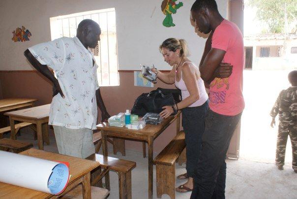 Soutien au centre «Coup de Pouce» de Yendé Sénégal