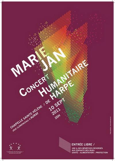 Concert Humanitaire de Harpe par Marie JAN, le 10 septembre à AURAY