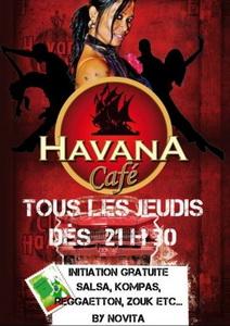 Novita au Havana Cafe