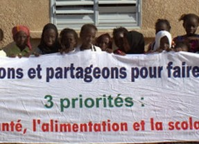 Vidéo de l'inauguration de l'école en banlieue de Dakar