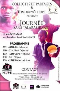 Affiche Journée Sans Alarabirane