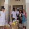 Don de Boites de lait maternisés, de médicaments et lessive à la pouponnière de Dakar