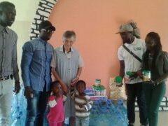 Concert organisé par Laye au profit de la pouponnière de Dakar