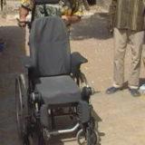 PAUL handicapé moteur après une chute dans un puits