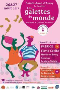 Collectes & Partages vous attend au festival des galettes du monde le 26 & 27 aout