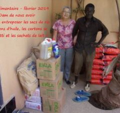 DISTRIBUTION UNE AIDE ALIMENTAIRE