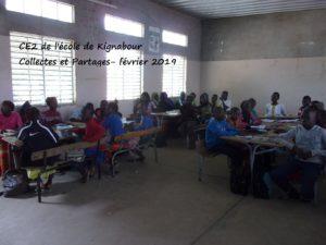 VISITE A L ECOLE DE KIGNABOUR – 02.2019