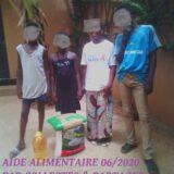 UNE SUPERBE EQUIPE pour DISTRIBUTION D'UNE AIDE ALIMENTAIRE 2020 AU SENEGAL